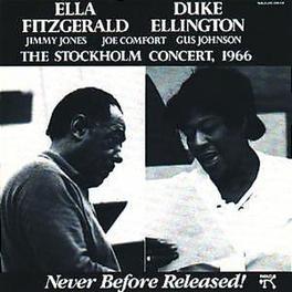 STOCKHOLM CONCERT 1966 -DIGITALLY REMASTERED- W/DUKE ELLINGTON Audio CD, ELLA/DUKE ELL FITZGERALD, CD