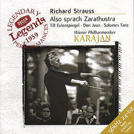ALSO SPRACH ZARATHUSTRA W/WIENER PHILHARMONIKER, HERBERT VON KARAJAN Audio CD, R. STRAUSS, CD