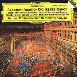 ADAGIO/CANON&GIGUE ETC. BERLIN SYMPH.ORCH./KARAJAN Audio CD, ALBINONI/PACHELBEL, CD