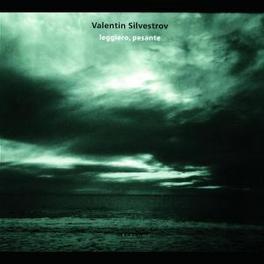 LEGGIERO, PESANTE ROSAMUNDE QUARTETT Audio CD, V. SILVESTROV, CD