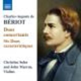 DUO CONCERTANTS CHRISTINE SOHN/JOHN MARCUS Audio CD, BERIOT, CD