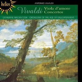 VIOLA D'AMORE CONCERTOS W/CATHERINE MACKINTOSH Audio CD, A. VIVALDI, CD