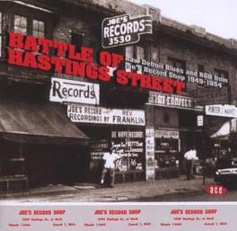 BATTLE OF HASTINGS STREET RAW DETROIT BLUES & R&B FROM JOE'S RECORDS SHOP 1953 Audio CD, V/A, CD