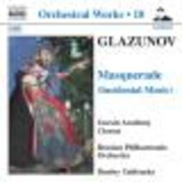 ORCHESTRAL WORKS VOL.18 RUSSIAN P.O./YABLONSKY Audio CD, A. GLAZUNOV, CD