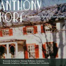 PRESENCES FROM AFORETIME RIVERSIDE SYMPHONY Audio CD, A. KORF, CD