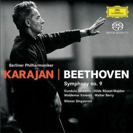 SYMPHONY NO.9 -SACD- BERLIN P.O./HERBERT VON KARAJAN Super Audio CD, L. VAN BEETHOVEN, CD