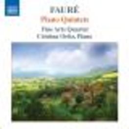 PIANO QUINTETS FINE ARTS QUARTET / ORTIZ Audio CD, G. FAURE, CD