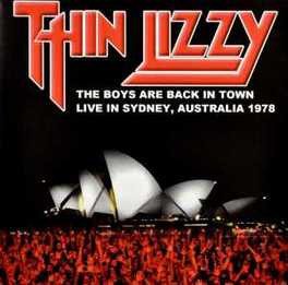 LIVE IN SIDNEY AUSTRALIA 1978 THIN LIZZY, CD
