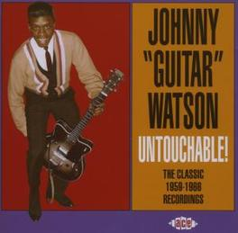 UNTOUCHABLE CLASSIC 1959-1966 RECORDINGS Audio CD, WATSON, JOHNNY -GUITAR-, CD