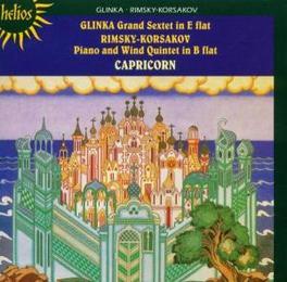 CHAMBER MUSIC CAPRICORN ENSEMBLE Audio CD, GLINKA/RIMSKY-KORSAKOV, CD