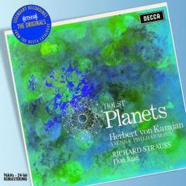 PLANETS/DON JUAN OP.2 WIENER PHILHARMONIKER/HERBERT VON KARAJAN Audio CD, HOLST/STRAUSS, CD