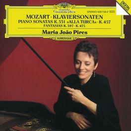 PIANO SONATAS KV 331/457 FANTASIES KV 397/475 W/MARIA JOAO PIRES Audio CD, W.A. MOZART, CD