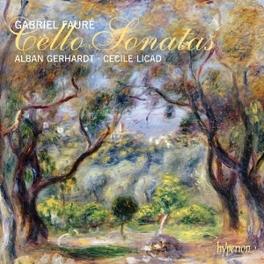 CELLO SONATAS GERHARDT/LICAD G. FAURE, CD