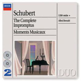 COMPLETE IMPROMPTUS ALFRED BRENDEL Audio CD, F. SCHUBERT, CD