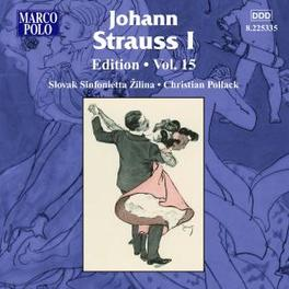 EDITION VOL.15 SLOVAK SINFONIETTA ZILINA/POLLACK Audio CD, J. STRAUSS, CD