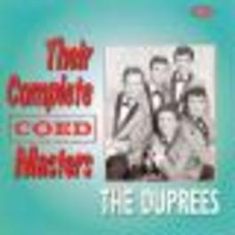 THEIR COMPLETE COED MASTE Audio CD, DUPREES, CD