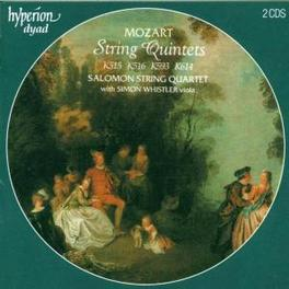 STRING QUINTET W/WHISTLER, SALOMON QUARTET Audio CD, W.A. MOZART, CD