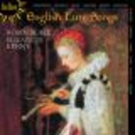 ENGLISH LUTE SONGS BLAZE, ROBIN/KENNY, ELIZABETH Audio CD, JOHNSON/DOWLAND, CD