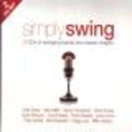 SIMPLY SWING -40TR- W/ARTIE SHAW/GLENN MILLER/BENNY GOODMAN/GENE KRUPA/AO. Audio CD, V/A, CD
