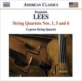 STRING QUARTETS NO.1,5 & CYPRESS STRING QUARTET Audio CD, LEES, CD