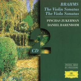 VIOLIN & VIOLA SONATAS W/PINCHAS ZUKERMAN, DANIEL BARENBOIM-PIANO Audio CD, J. BRAHMS, CD