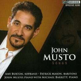 SONGS BURSTON/MASON/MUSTO/BARRETT Audio CD, MUSTO, CD