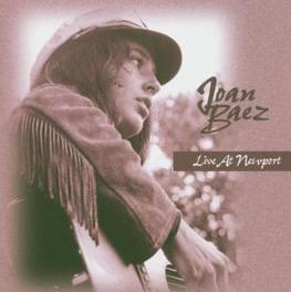 LIVE AT NEWPORT Audio CD, JOAN BAEZ, CD