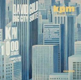 KPM LIBRARY MUSIC INCL. DAVID GOLD'S 'BIG CITY SUITE' Audio CD, V/A, CD