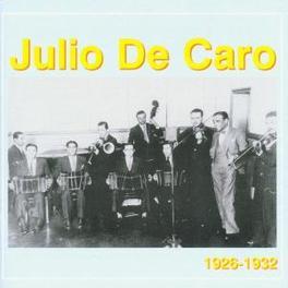 1926-1932 Audio CD, JULIO DE CARO, CD
