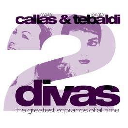 DIVAS * THE GREATEST SOPRANOS OF ALL TIME * Audio CD, CALLAS, MARIA & RENATE TE, CD