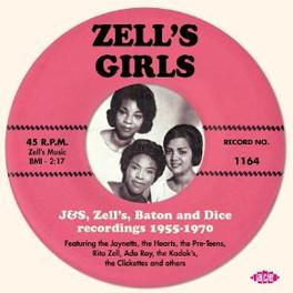 ZELL'S GIRLS -28TR- J&S, ZELL'S, BATON AND DICE REC. 1955-1970 Audio CD, V/A, CD