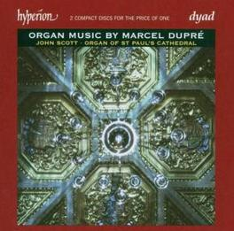 ORGAN MUSIC W/JOHN SCOTT Audio CD, M. DUPRE, CD