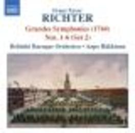 GRANDES SYMPHONIES HAKKINEN/WORKS BY RICHTER Audio CD, HELSINKI BAROQUE ORCHESTR, CD