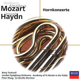 HORNKONZERTE NO. 1-4 BARRY TUCKWELL, LONDON SYMPHONY ORCH., PETER MAAG, Audio CD, MOZART/HAYDN, CD
