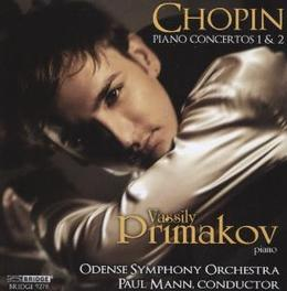 PIANO CONCERTOS 1 & 2 ODENSE S.O./MANN Audio CD, F. CHOPIN, CD