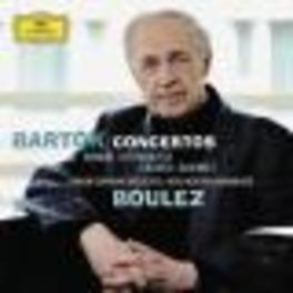 CONCERTOS BERLINER PHILHARMONIKER/PIERRE BOULEZ/GIDON KREMER/LSO Audio CD, B. BARTOK, CD