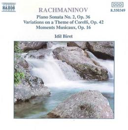 PIANO SONATA NO.2 IDIL BIRET S. RACHMANINOV, CD