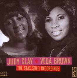 STAX SOLO RECORDINGS Audio CD, CLAY, JUDY & VEDA BROWN, CD