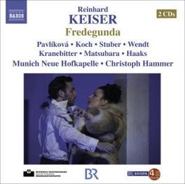 FREDEGUNDA PAVLIKOVA, KOCH, STUBER, HAMMER Audio CD, KEISER, CD