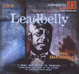 DEFINITIVE 75 TRACK COLLECTION Audio CD, LEADBELLY, CD