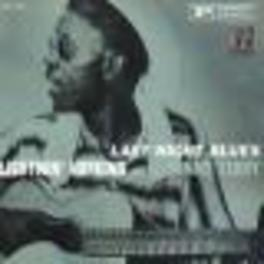 LAST NIGHT BLUES Audio CD, LIGHTNIN' HOPKINS, CD