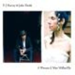 A WOMAN A MAN WALKED BY W:JOHN PARISH Audio CD, P.J. HARVEY, CD
