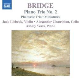 PIANO TRIOS JACK LIEBECK, ALEXANDER CHAUSHIAN, ASHLEY WASS Audio CD, F. BRIDGE, CD