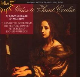 ODES TO SAINT CECILIA PARLEY OF INSTRUMENTS, PLAYFORD CONSORT Audio CD, DRAGHI/BLOW, CD