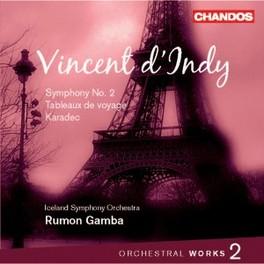 SYMPHONY 2/KARADEC.. .. SUITE/TABLEAU//ICELAND S.O./R.GAMBA Audio CD, V. D'INDY, CD