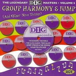 GROUP HARMONY & JUMP-26TR W/MID 50'S VOCAL GROUPS ON JOHNNY OTIS' & ELDO LABELS Audio CD, V/A, CD