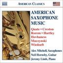 AMERICAN SAXOPHONE MUSIC W/MITCHELL, HORNSBY, LIMB