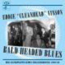 BALD HEADED BLUES COMPLETE KING RECORDINGS, RECORDED 1949-1952 Audio CD, EDDIE 'CLEANHEAD' VINSON, CD