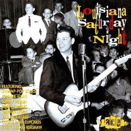 LOUISIANA SATURDAY NIGHT 26 SWAMP-POP TR. W/PHIL BO,ROCKIN' SIDNEY,RUSTY KERSHAW Audio CD, V/A, CD