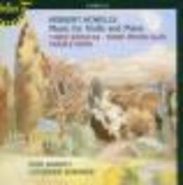 MUSIC FOR VIOLIN & PIANO W/PAUL BARRITT, CATHERINE EDWARDS Audio CD, H. HOWELLS, CD